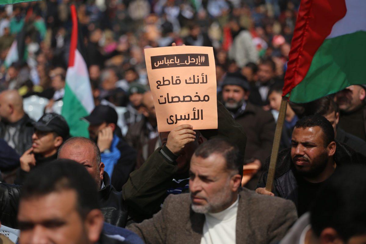 ANP paga stipendi a prigionieri e famiglie di vittime palestinesi