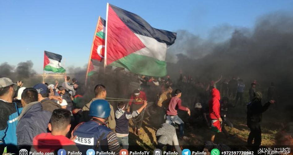 Striscia di Gaza, Grande Marcia del Ritorno: i soldati israeliani uccidono 2 palestinesi e ne feriscono 66