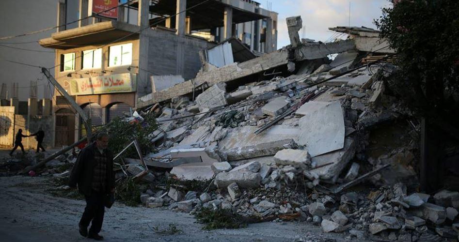 Striscia di Gaza, l'offensiva israeliana ha distrutto 30 unità abitative e danneggiato altre 500