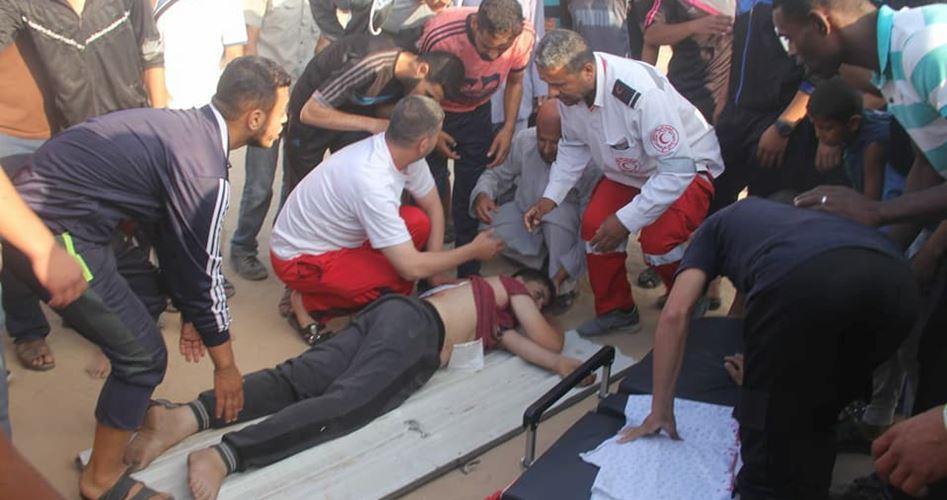 Striscia di Gaza, adolescente ferito dai soldati israeliani