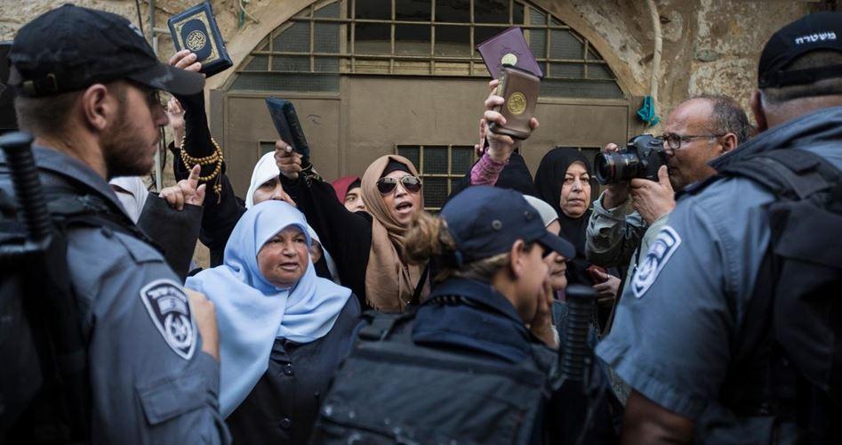 Gerusalemme, la polizia israeliana arresta 7 donne a al-Aqsa