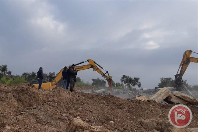 Israele rilascia notifiche di fermo per la costruzione di pozzi a Salfit