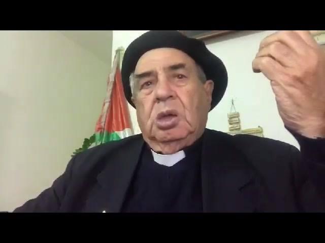 Messaggio di p. Musallam agli oligarchi arabi: avete consegnato la Palestina agli occupanti sionisti