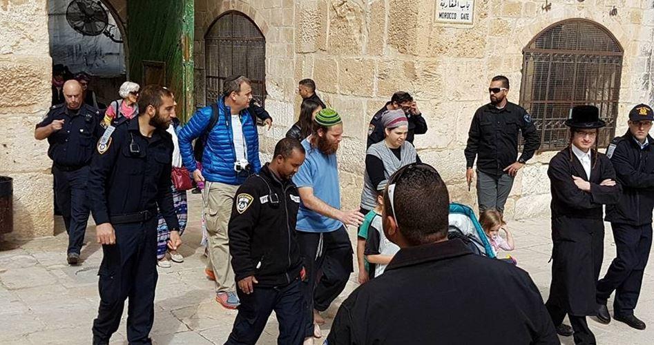 Gerusalemme, 136 coloni hanno invaso al-Aqsa