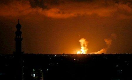 Bombardamento israeliano contro sito della resistenza a Khan Younis