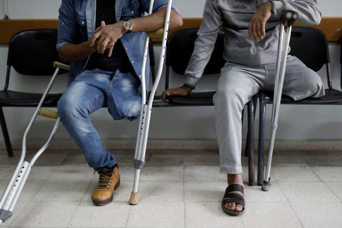 Striscia di Gaza, il Qatar apre centro di riabilitazione per pazienti con arti amputati