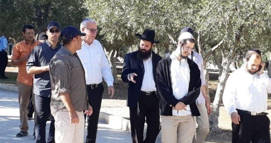 Il ministro dell'Agricoltura di Israele guida gruppo di coloni a al-Aqsa