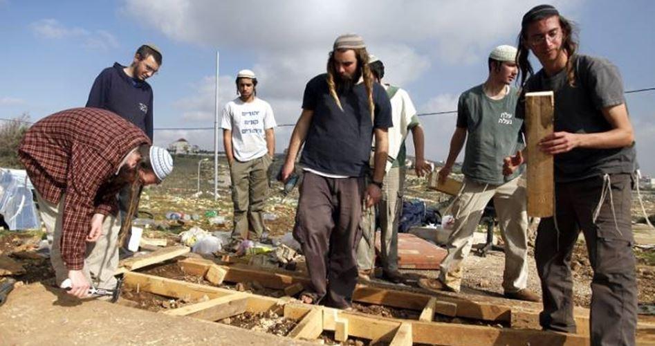 Israeliani iniziano a preparare il terreno per una nuova colonia ad est di Nablus