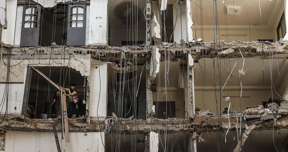 Striscia di Gaza, 830 unità abitative distrutte dai recenti bombardamenti israeliani