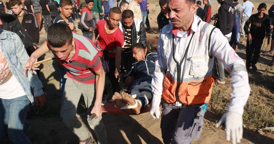 Striscia di Gaza, 65 Palestinesi feriti dalle forze israeliane nel 71° anniversario della Nakba
