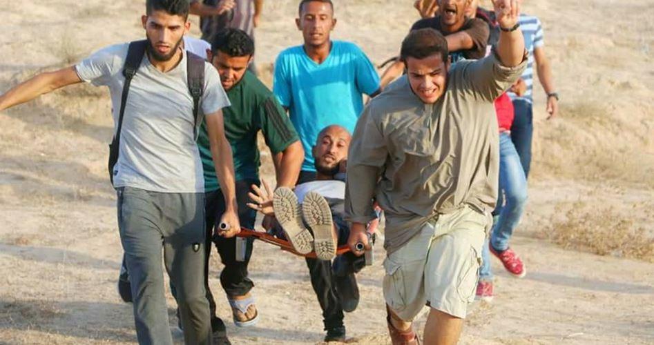 Striscia di Gaza, le forze di occupazione feriscono un palestinese
