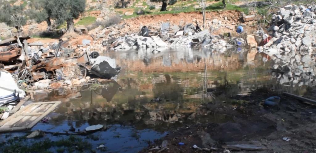 Disastro ambientale a seguito di demolizione di stazione analisi acque reflue a Gerusalemme