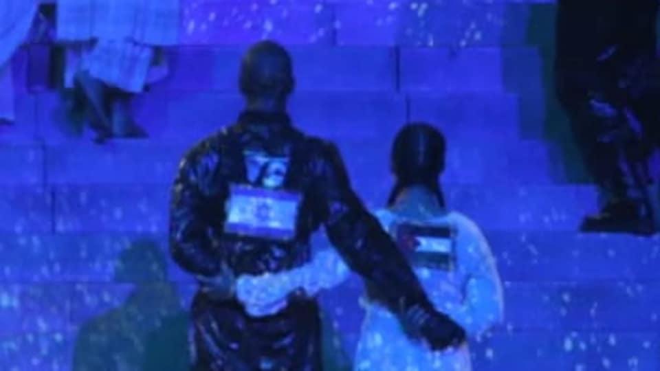 Eurovision e le bandiere palestinesi esibite durante lo show