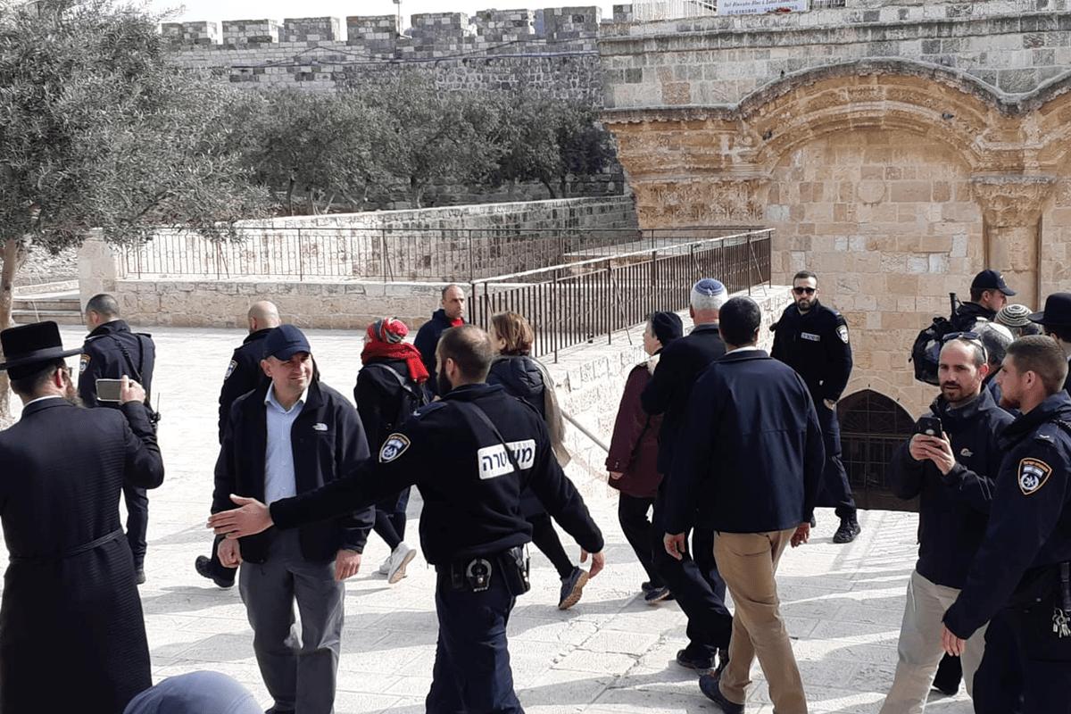 Il Waqf islamico condanna l'invasione di al-Aqsa da parte di un ministro israeliano