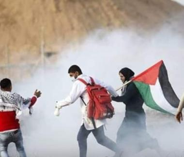 Striscia di Gaza, 13 Palestinesi feriti durante proteste della Grande Marcia del Ritorno