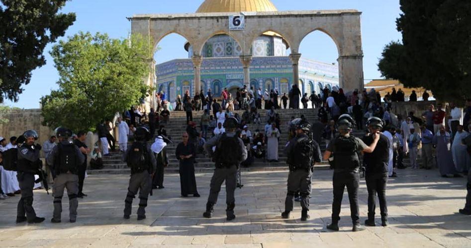 150 coloni invadono al-Aqsa