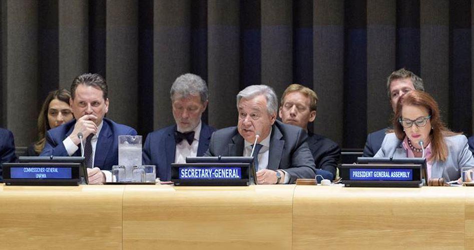 Paesi donano 110 milioni di dollari all'UNRWA