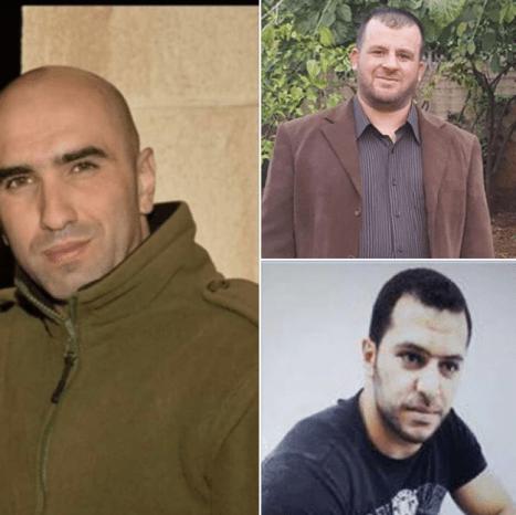 Tre prigionieri palestinesi ancora in sciopero della fame
