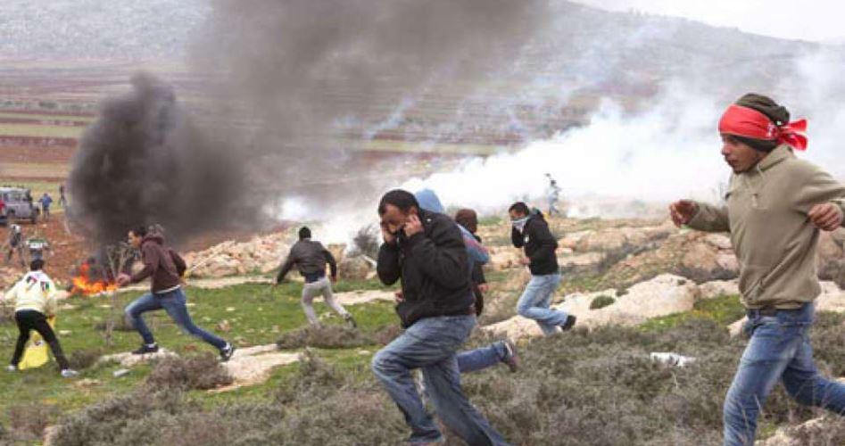 Palestinesi feriti durante manifestazioni contro Conferenza del Bahrain