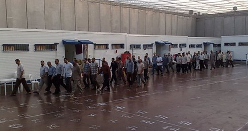 Guardie carcerarie aggrediscono prigionieri ad Ashkelon