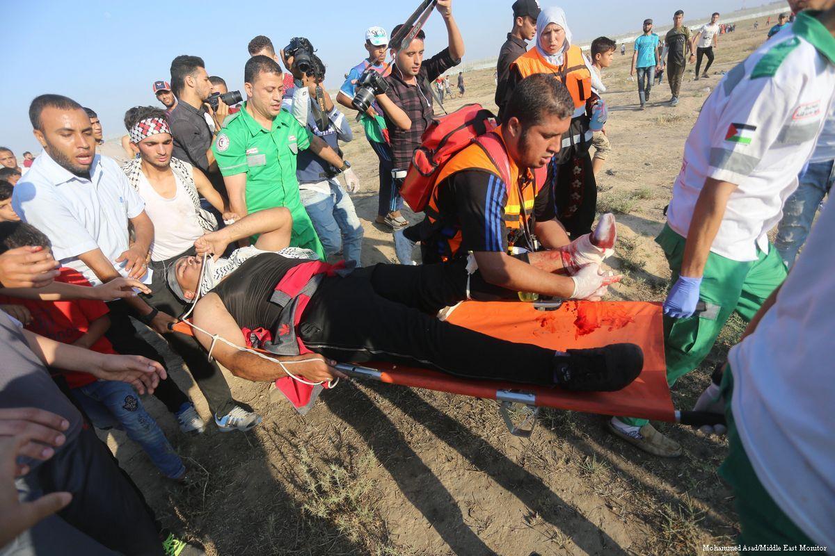 Il settore sanitario di Gaza in tilt per il grande numero di feriti della Grande Marcia del Ritorno