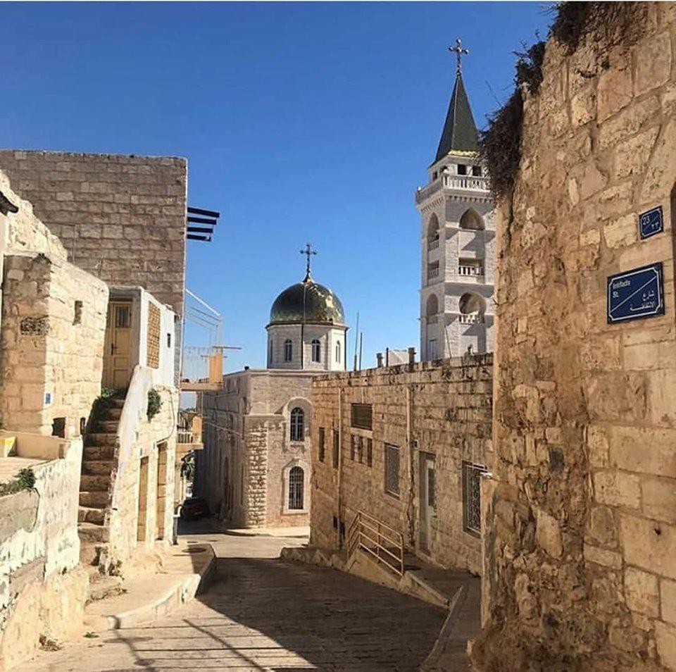 Beit Jala, l'antico tappeto d'erba