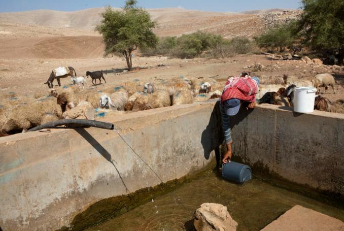 """Baroud: """"Se l'accesso all'acqua pulita è un diritto umano, perché la Palestina è l'eccezione?"""""""