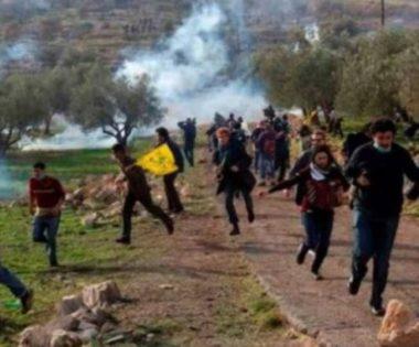 Soldati israeliani feriscono molti manifestanti pacifici a Bil'in