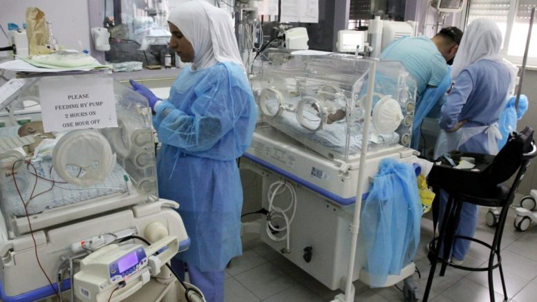 Un ospedale di Gerusalemme in cui i bambini palestinesi muoiono da soli