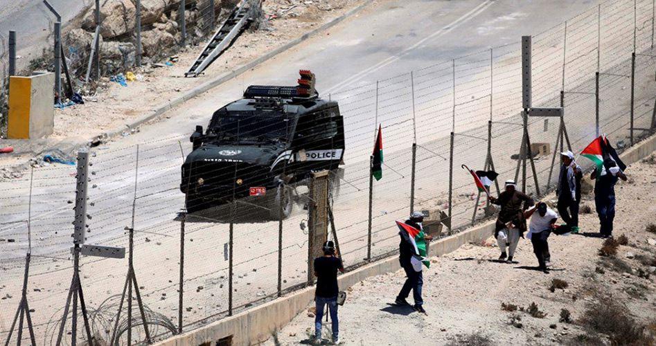 Decine di palestinesi feriti durante manifestazione a Sur Baher
