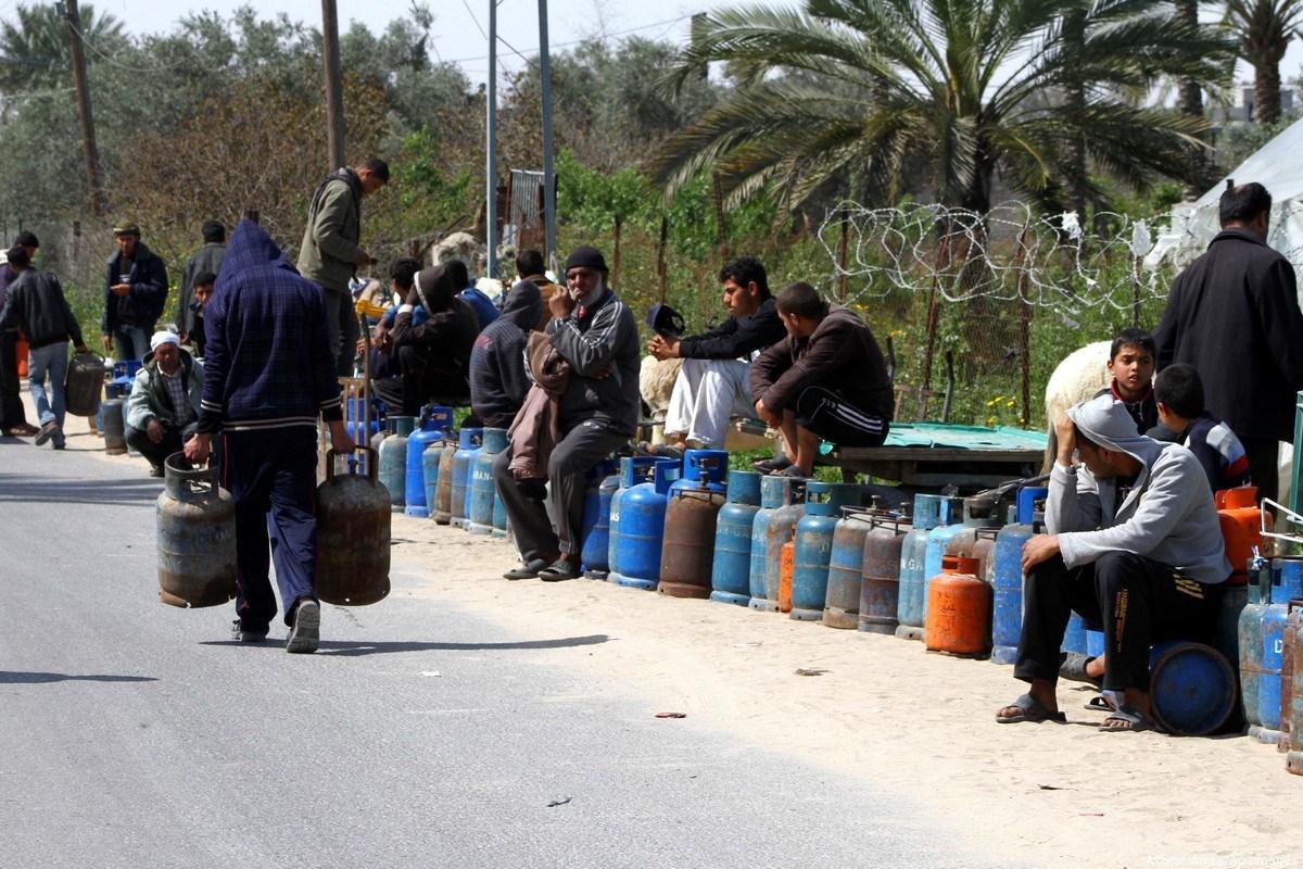 A Gaza il gas per cucinare si estrae dal letame degli animali