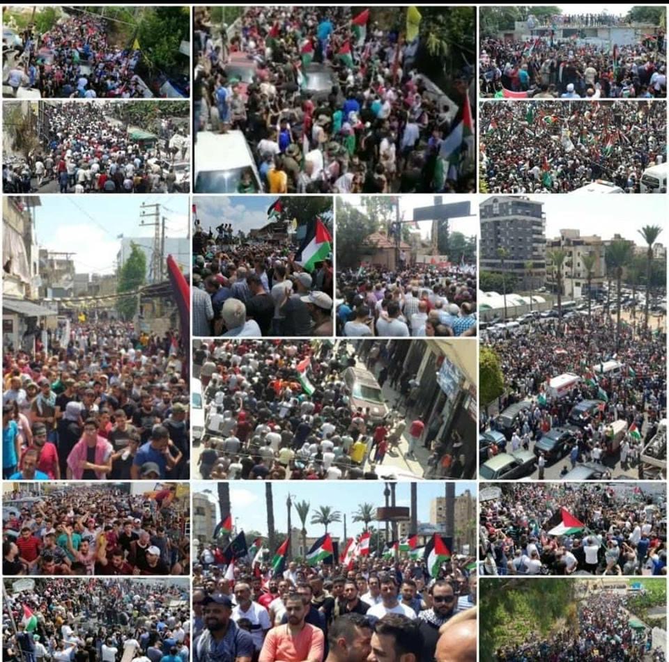Continuano le proteste dei rifugiati palestinesi in Libano