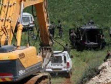 Israele distrugge terre e pozzi d'acqua nel sud della Cisgiordania