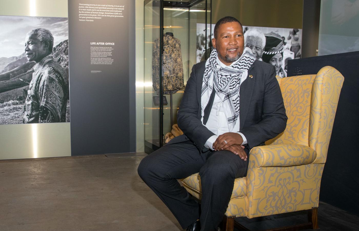 Il nipote di Nelson Mandela: Trump vuole fortificare l'apartheid di Israele