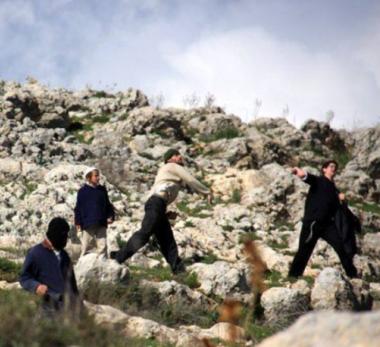 Coloni danneggiano case ed auto palestinesi a Betlemme
