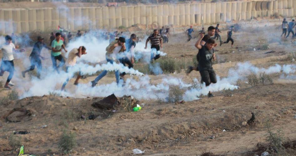 Striscia di Gaza, Grande marcia del Ritorno, 122 Palestinesi feriti dai soldati israeliani