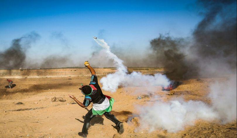 Striscia di Gaza, 49 Palestinesi feriti dalle forze israeliane durante Grande Marcia del Ritorno