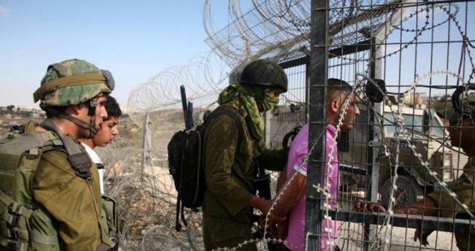 Le forze israeliane rapiscono 5 giovani gazawi