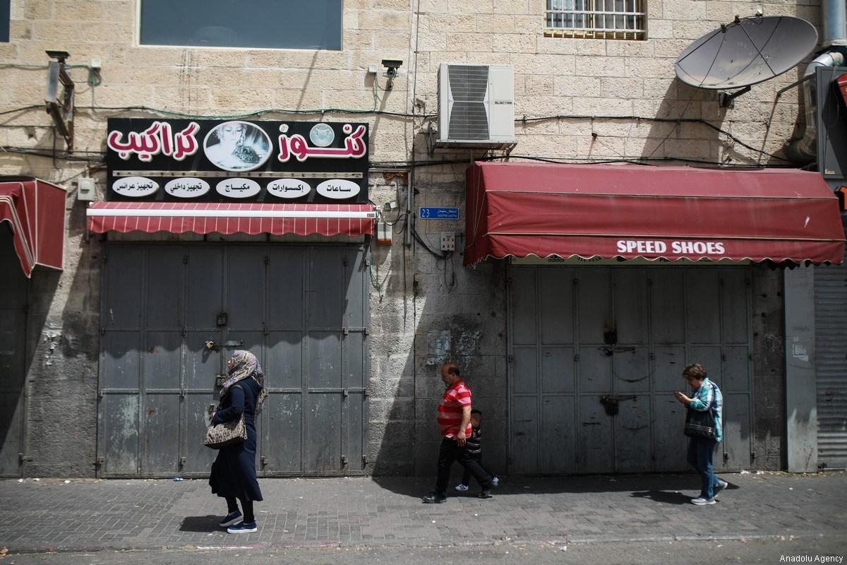 In 20 anni, Israele ha chiuso 430 negozi palestinesi a Gerusalemme