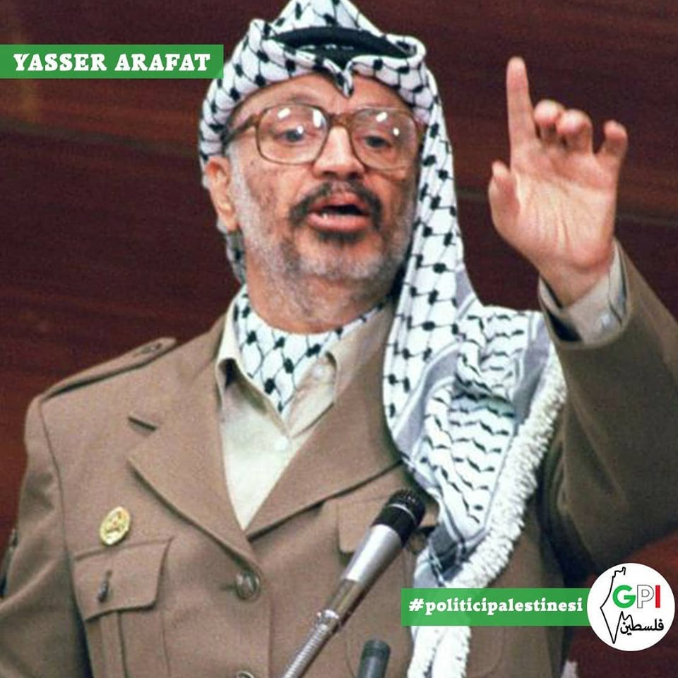 Vita di Yasser Arafat, figura storica della causa palestinese