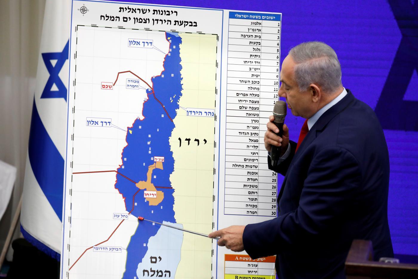 Netanyahu promette di annettere Cisgiordania se rieletto
