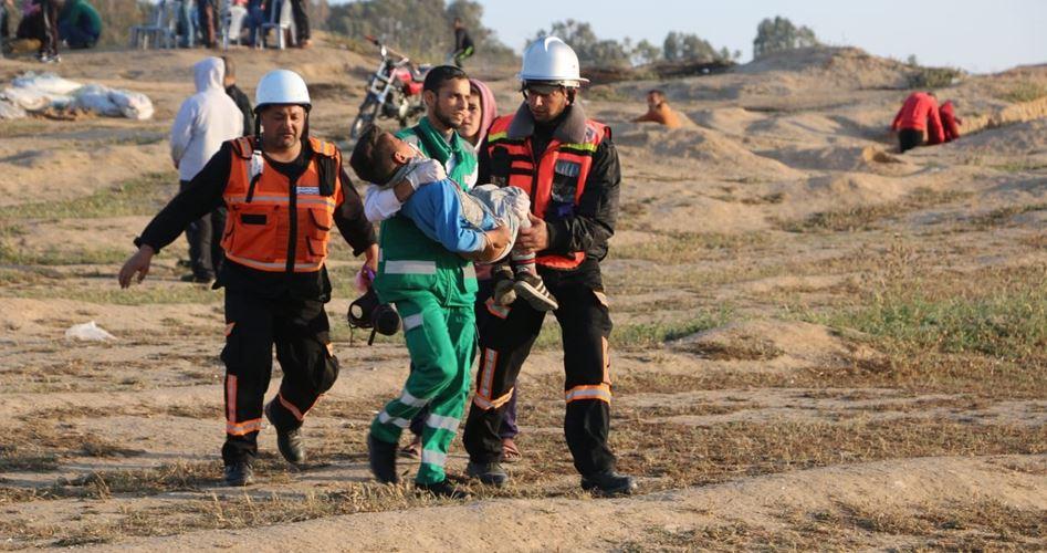 Striscia di Gaza, 63 Palestinesi feriti dai soldati israeliani durante Grande Marcia del Ritorno