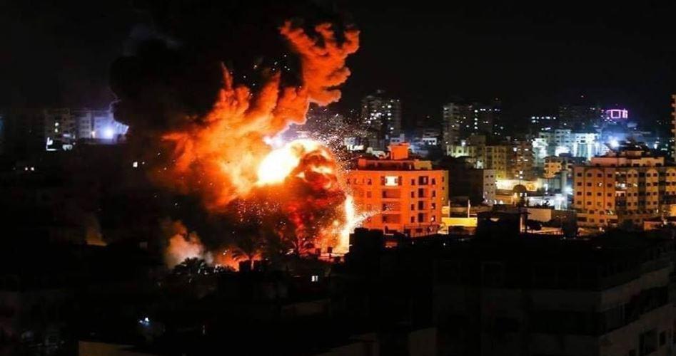 Aerei israeliani bombardano aree della Striscia di Gaza