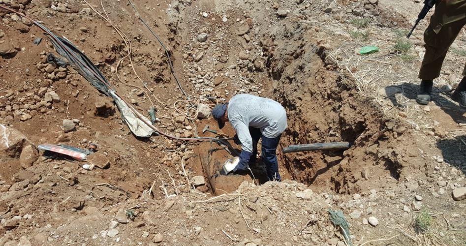 L'esercito israeliano ha interrotto l'approvvigionamento idrico in un villaggio della Valle del Giordano