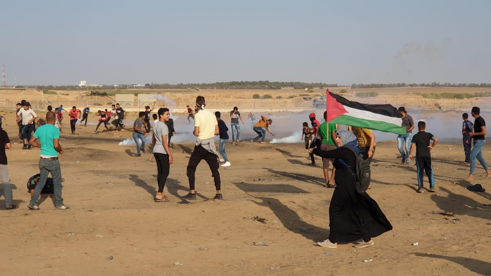 Striscia di Gaza, 109 Palestinesi feriti dalle forze israeliane