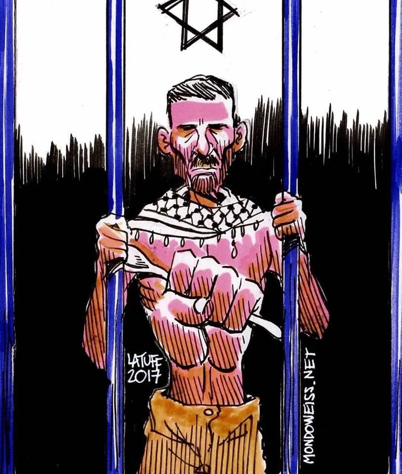 Prigionieri palestinesi al 15° giorno di sciopero della fame contro installazioni cancerogene in carcere