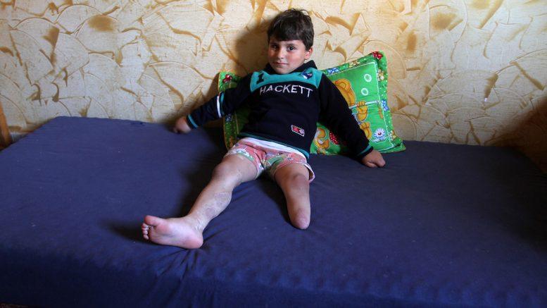 Traumatiche esperienze dei bambini di Gaza