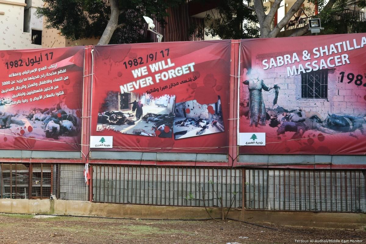 Ricordo del massacro di Sabra e Shatila