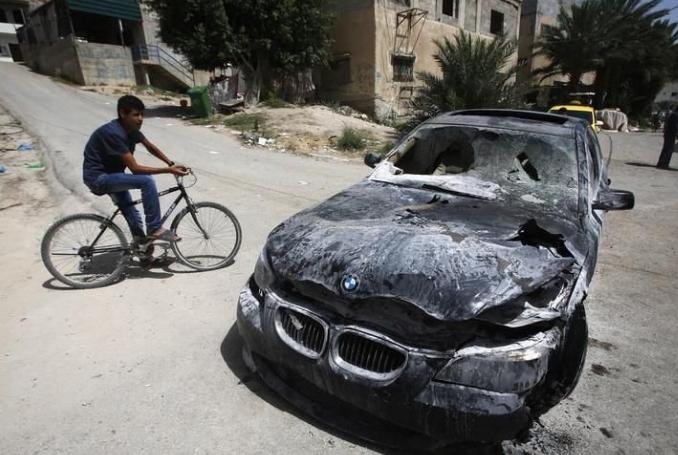 Coloni attaccano veicoli palestinesi in Cisgiordania