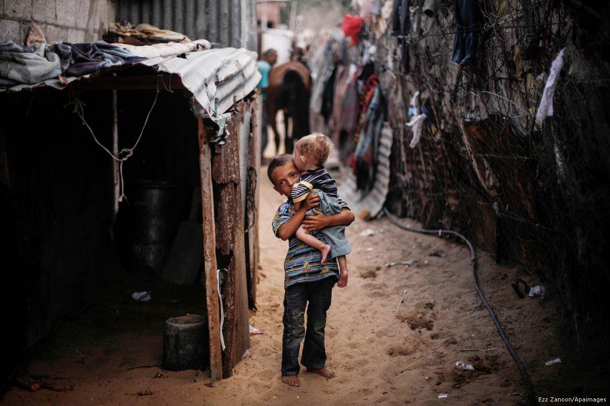 Il 34% dei gazawi vive nella povertà